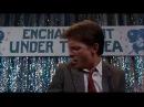 Эпизод из фильма Назад в будущее 1985 Michael J Fox Johnny be good