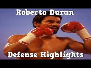 Roberto Durán - Defense Highlights