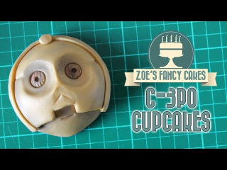 () C-3PO cupcakes Star Wars cakes and ideas