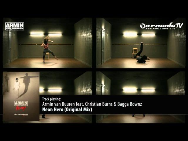'Mirage Deluxe Bonus Track' Armin van Buuren feat Christian Burns Bagga Bownz Neon Hero