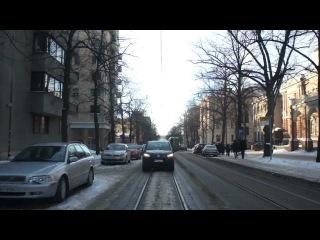 Helsinki tram ride: 6 Hietalahti - Arabia