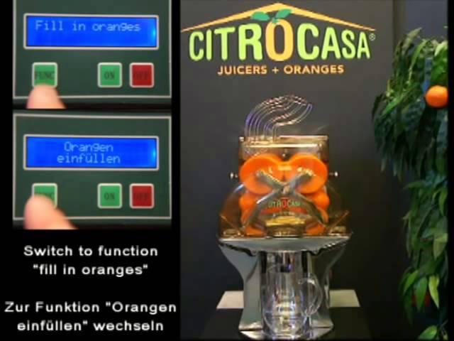 Автоматическая соковыжималка для апельсинов M AS_ROVABO
