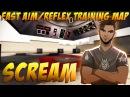 CS:GO - ScreaM training on FAST AIM / REFLEX TRAINING MAP (aimtraindriving V3)