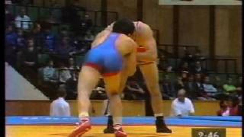 Kupeev,,Igor (RUS) - Davoud Chanbari (IRI) 69 kg. 1997 Chempionat Mira