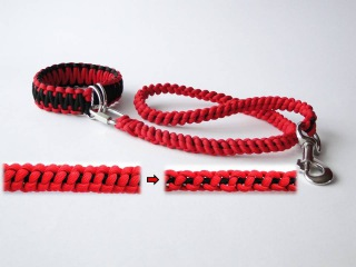 How to Make a Paracord Bungee,Elastic Dog Leash - Multifunctional handle-dog collar