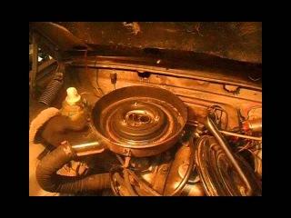 Снятие карбюратора с ГАЗ 3110 ( ДААЗ 4178-1107010-40)