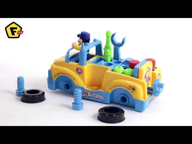 HUILE TOYS Машинка с инструментами 789
