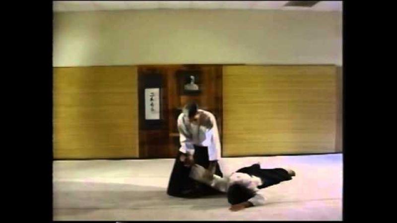 Aikido Tanto Dori Yokomenuchi by Jim Graves 5th Dan