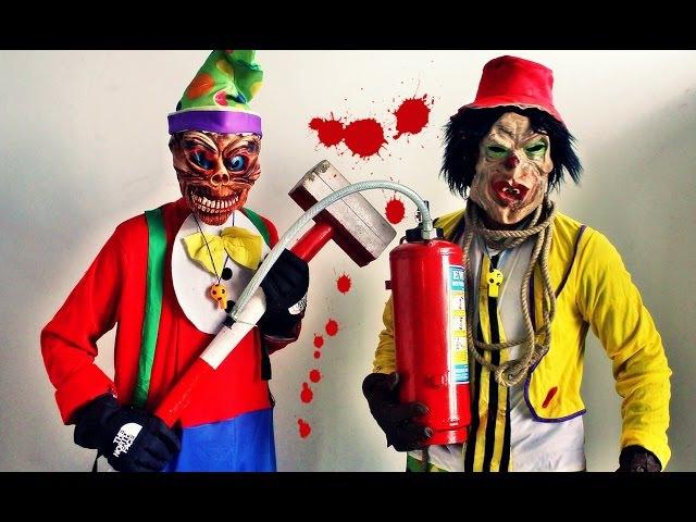 Killer Clown Scare Prank Compilation 2015 TUTV смотреть онлайн без регистрации