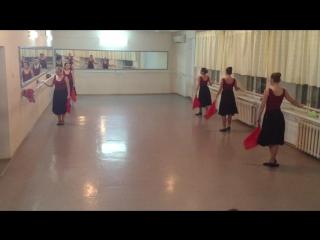 4 курс.Народный танец. Фондю в русском и еврейском характере. ЧКК