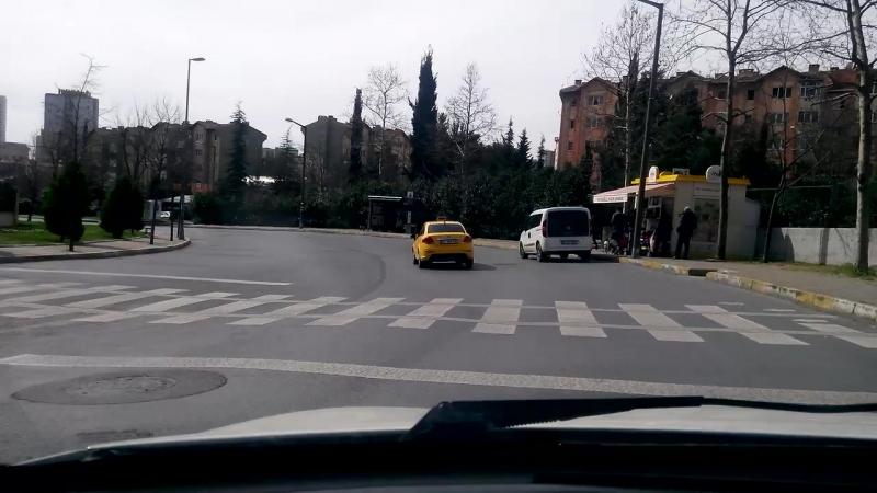İstanbulda Güneşli Bir Gün ) | в солнечный день в Стамбуле - istanbul ist sultanahmet bluemosque