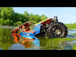 RC Extreme Pictures | RC Cars OFF Road 4x4 Adventure  Axial Wraith a Swim In The River