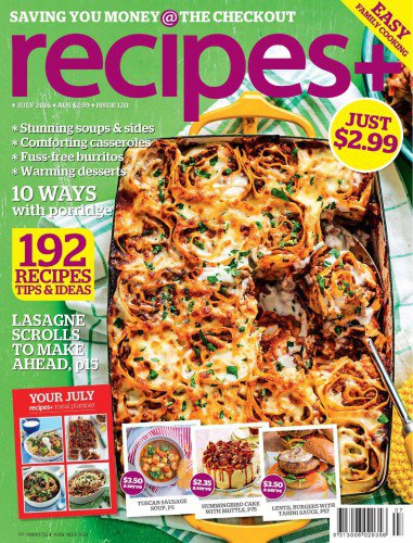 recipes  - July 2016