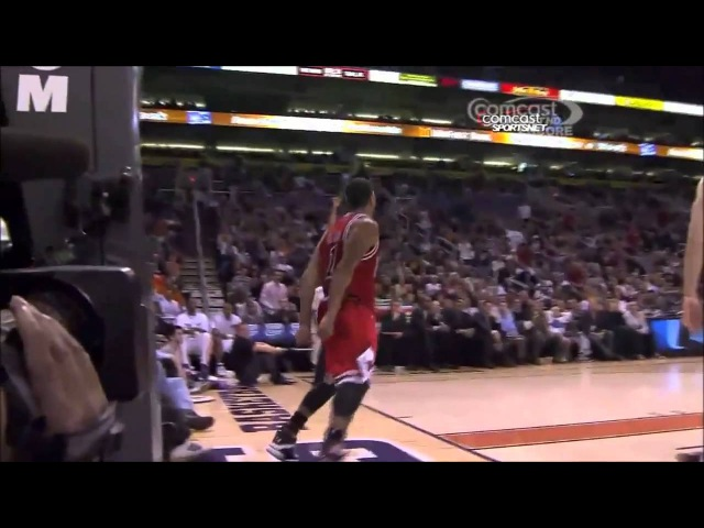 Derrick Rose Dunks - What are you doing Dragic