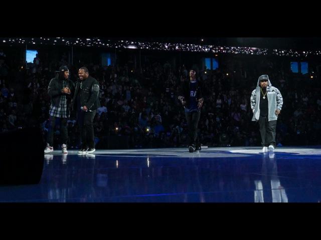 Busta Rhymes Les Twins Tribute Phife Dawg (ATCQ) at K.O.D. World Finals 2016 | SXSTV