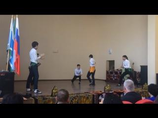 Танец Таджикских студентов
