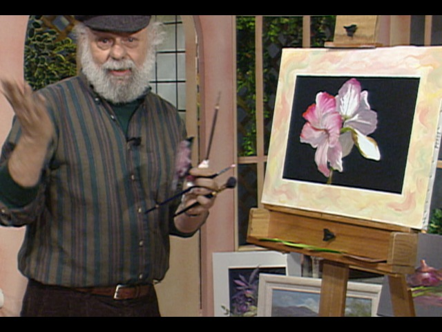 The Beauty of Oil Painting, Series 1, Episode 9 Amaryllis