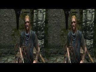 The Elder Scrolls V: Skyrim 3D Side by Side (SBS) 2 эпизод