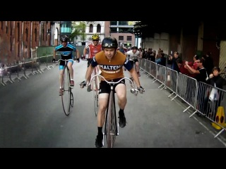 IG London Nocturne 2013. Brooks Penny Farthing race.