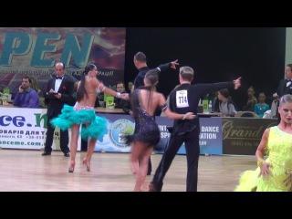 Kiev Open 31 12 14 Adults IDSA 1 8 Ча ча