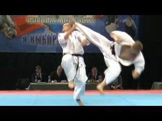 Brutal Knockout Tobi ushiro geri - Жесткий нокаут вертушкой