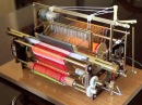 Minyatür Dokuma Tezgahı Model MT4 - Miniature Woven Machine Model MT4