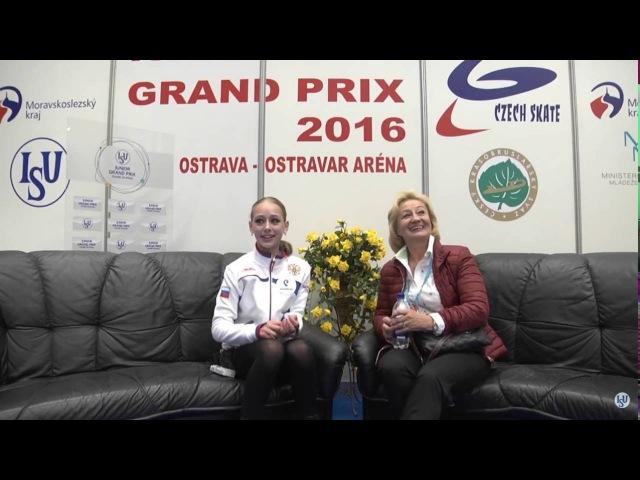 12 Alisa LOZKO RUS SP 2016 JGP Czech