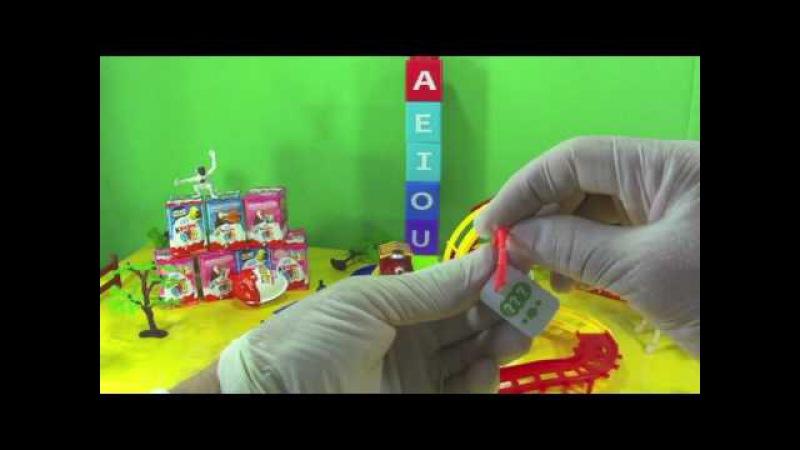 Surprise Egg Kinder ovo de chocolate com brinquedo surpresa e trenzinho colorido