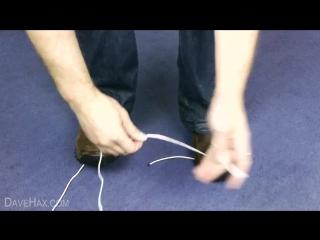 Как разрезать веревку в чрезвычайном положении
