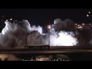 Top 100 best implosions explosion compilation best building demolition compilation 2016