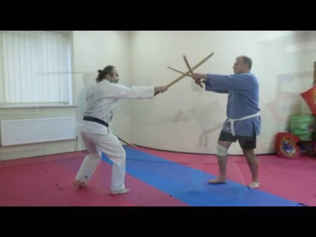 Фехтование двумя мечами 01 Клуб Канкиро Одесса
