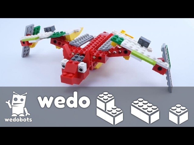 Wedobots: Spooky Bat Instructions with LEGO® WeDo™ bricks