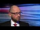 Arseniy Yatsenyuk: Russia should 'get out' of Ukraine