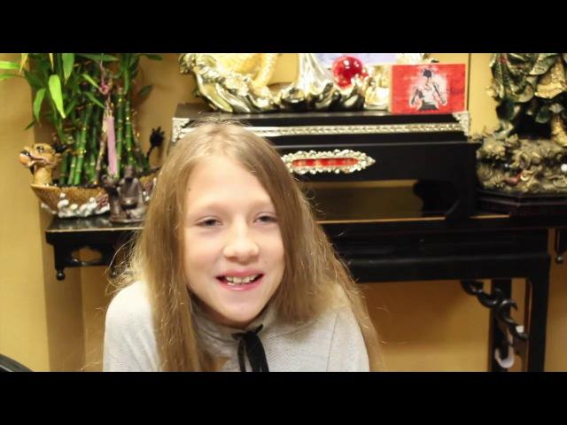 Дети билингвы Интервью с молодыми американцами Лиза 10 лет
