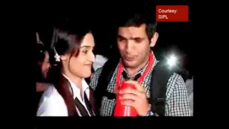 Nupur Gunjan Mayank Samrat in school theme party