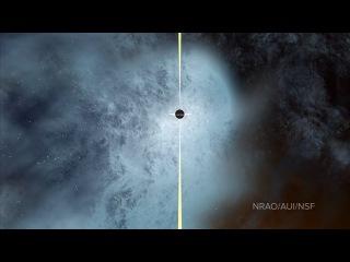 Nearly Naked Black Hole