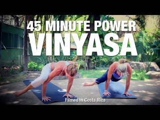 45 Minute Power Vinyasa Flow Yoga Class - Five Parks Yoga