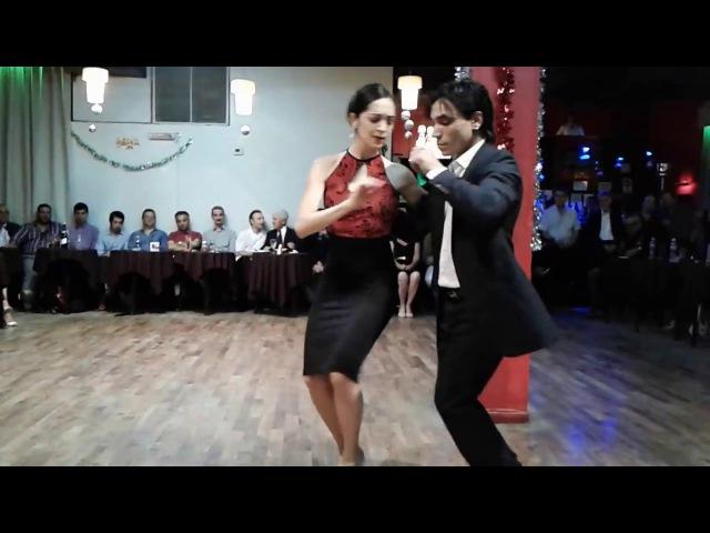Bailaron Mariana Dragone Gastón Torelli, en la Milonga de Los Domigos. Part.2 - 150117