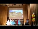 Средневековый танец выступление наших девочек на школьном выпускном