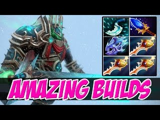 AMAZING BUILDS BACK - HOW TO NEVER DROP UR DIVINE - AMAZING BUILDS VOL 119 - Dota 2