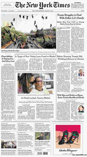 The New York Times  August 01 2016
