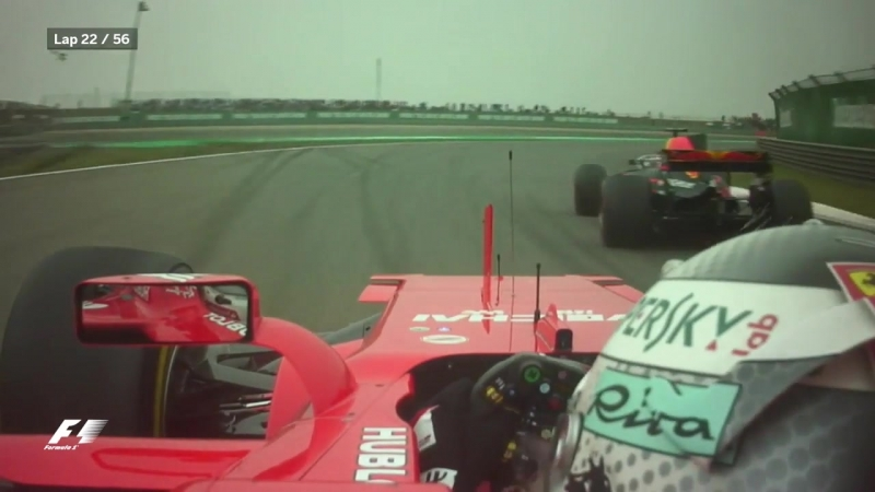 Vettel bags two places in two laps