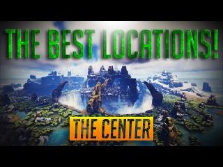 Лучшие места для постройки не больших баз в PVP . Карта центр | ARK: Survival Evolved часть 2