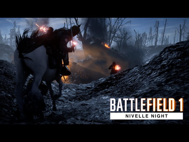 God Gonna Cut You Down Battlefield 1 Nivelle Night 4K Ultra 60 FPS