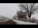 Жахлива дорога Н 11 Баштанка Миколаїв під час грудневого снігопаду