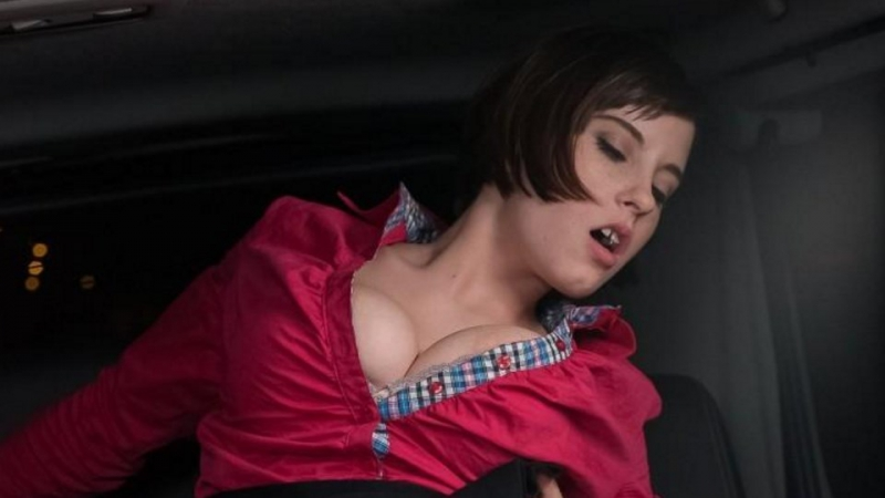 Anabell - Brunette Czech Babe Seduces Taxi Driver George Uhl To Have Sex in The Cab  1080p]