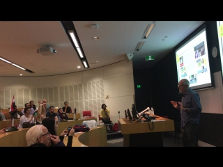 tim anderson at Sydney syria conference 2017