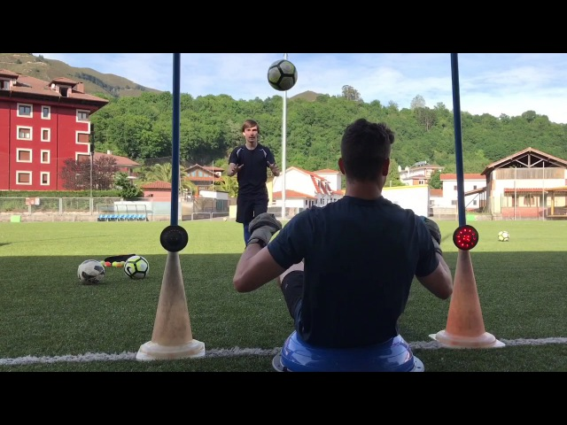 Goalkeeper training with FitLight HD 1080p 60fps