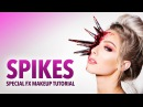 Spikes special fx makeup tutorial
