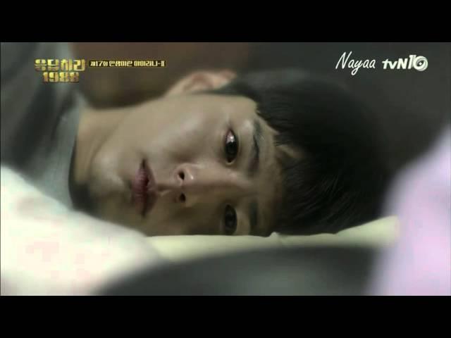 [REPLY1988 EP18] TAEK❤DEOKSUN FIRST KISS SCENE (PARK BOGUM HYERI) [ENG SUB]